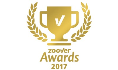 ZOOVER award Gold 2017 voor ons